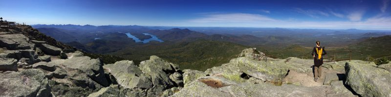Lake Placid from Whiteface