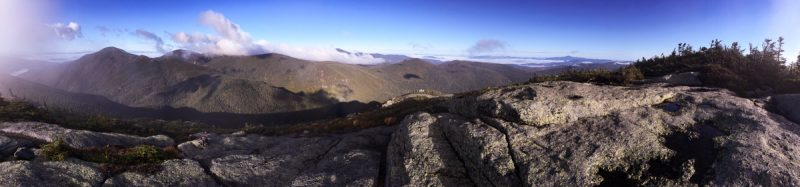 Panorama from Basin Mt.