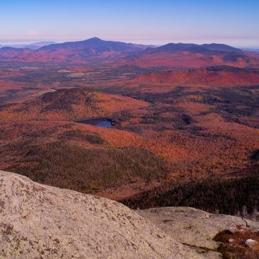 Heart Lake and Whiteface from Wright Peak