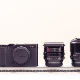 703 grams: Fuji X-A1 + 18mm & 60mm macro