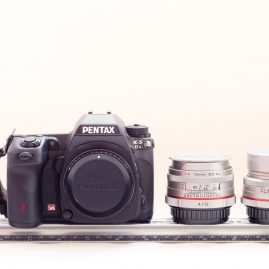 1137 grams: Pentax K-5iis + 15mm & 70mm