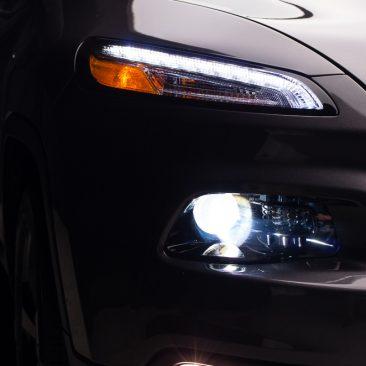 Cherokee front lights