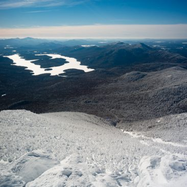 Lake Placid (McKenzie & Moose Mts, right)