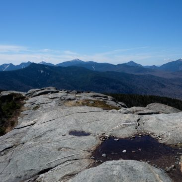 Big Slide, the Great Range, Colden, Algonquin