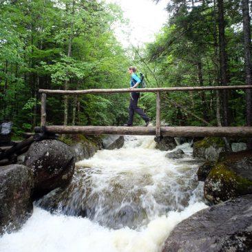 High Water Bridge across Marcy Brook