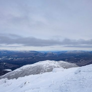 Wright Peak (fore), Whiteface, Cascade, Porter, Big Slide (rear, l-r) from Algonquin
