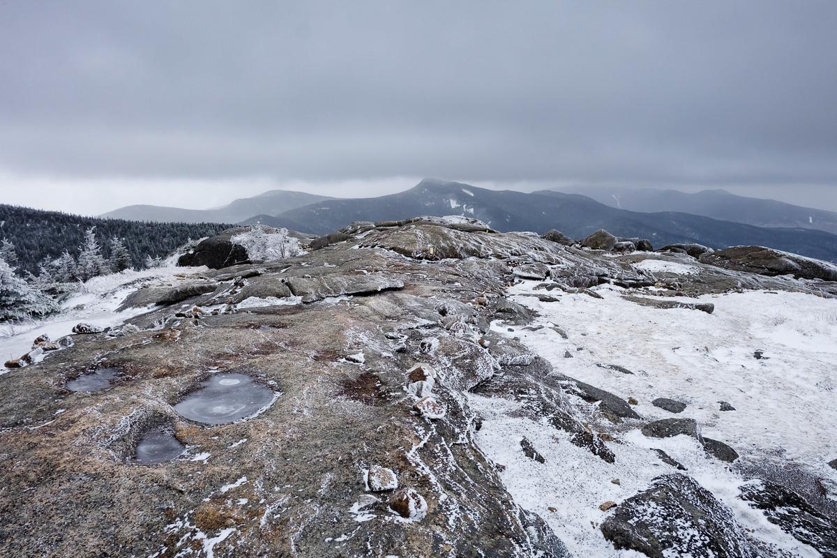 Summit of Cascade; Big Slide in distance